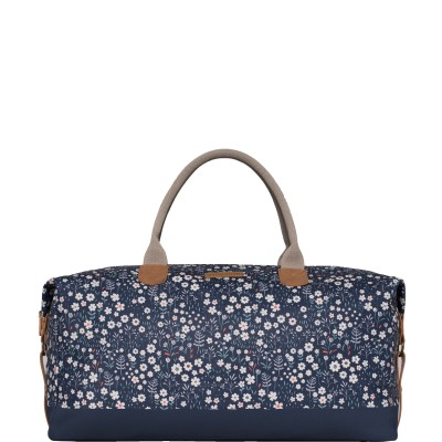 Brakeburn Ditsy Flower Weekend Bag - Navy