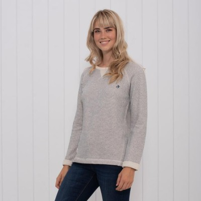 c759cf762425 Brakeburn French Terry Sweater - Ecru