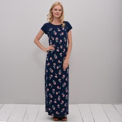 0d21fe8257 Brakeburn Summer Bloom Maxi Dress - Navy