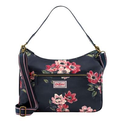 aa8cc629c303 Cath Kidston Anemone Bouquet Curve Shoulder Bag - Midnight