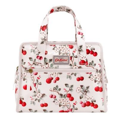 36ef88e7becd Cath Kidston Cherry Sprig Small Pandora Bag - Pearl White