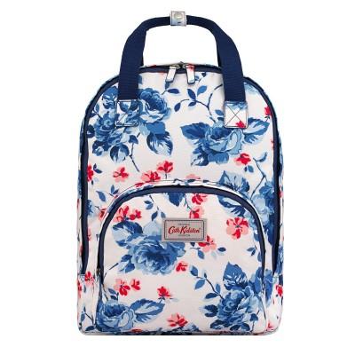 0b7e97b38f36 Cath Kidston Dulwich Rose Multi Pocket Backpack - Pearl White