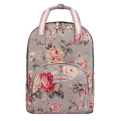 99d69b590803 Cath Kidston Garden Rose Multi Pocket Backpack - Grey