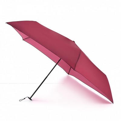 Fulton Superslim-1 Compact Umbrella Brolly Lightweight Slim Case Black