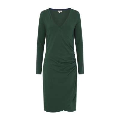 0fd98c235647 Mudd   Water Aldeburgh Dress - Dark Green Solid