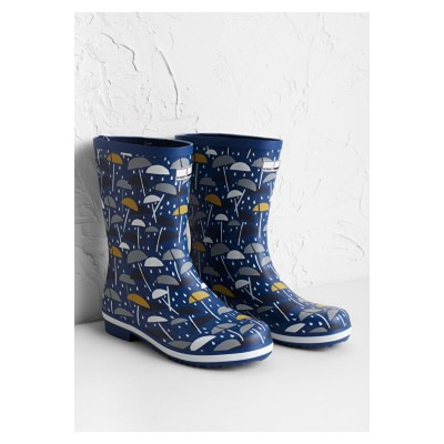 efa79ff09d28 Seasalt Deck Wellies - Brolly Geo Dark Voyage