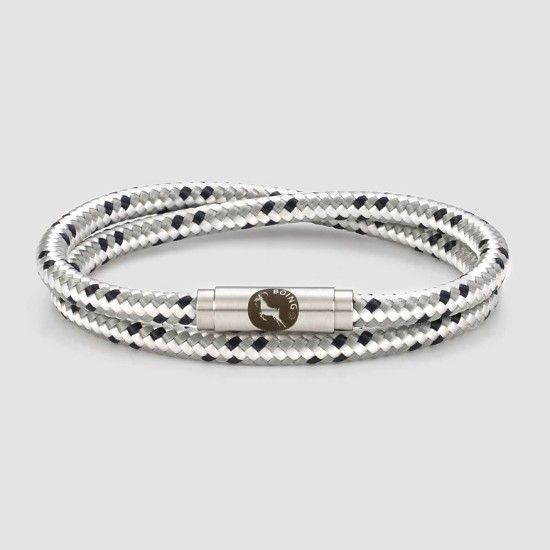 Boing Ice Double Wrap Bracelet - Grey