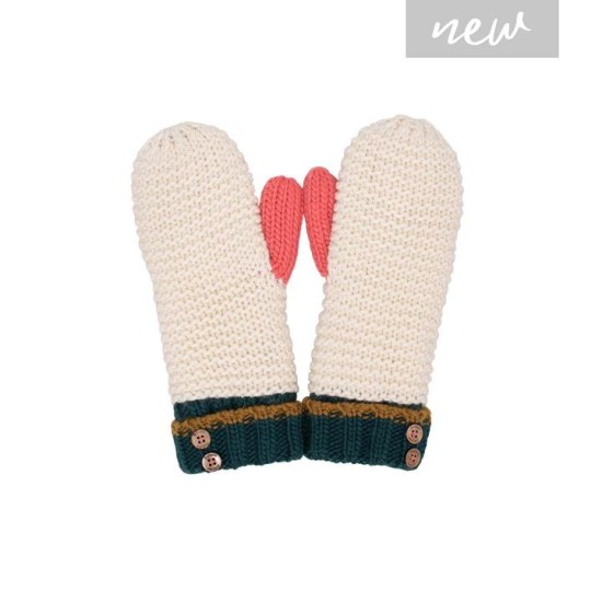 Brakeburn Colour Block Mittens - Multi