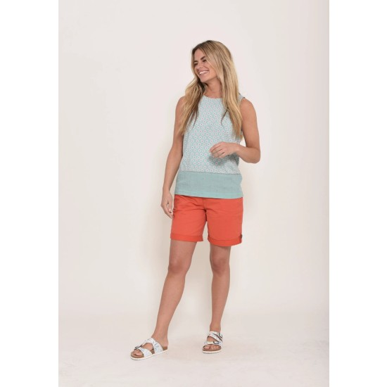 Brakeburn Daisy Sleeveless Blouse - Mint Green