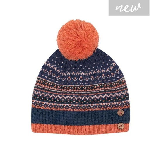 Brakeburn Fairisle Hat - Multi