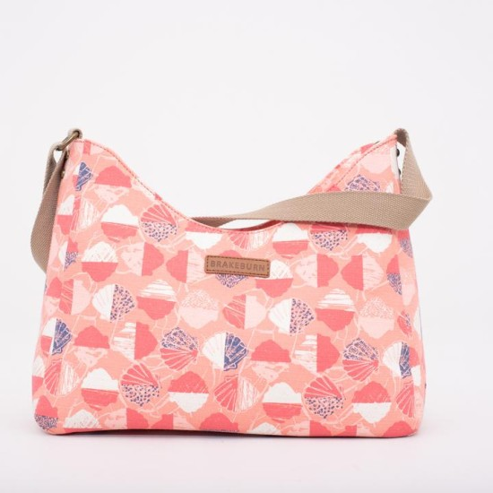 Brakeburn Shells Hobo Bag - Coral