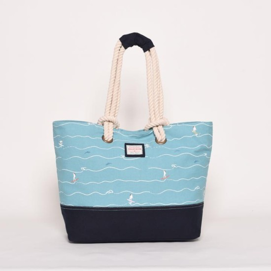 Brakeburn Surfers Beach Bag - Blue