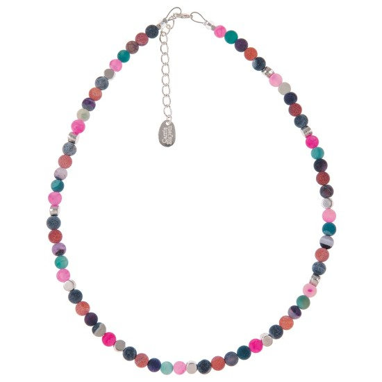 Carrie Elspeth Agate Medley Full Necklace - N1241