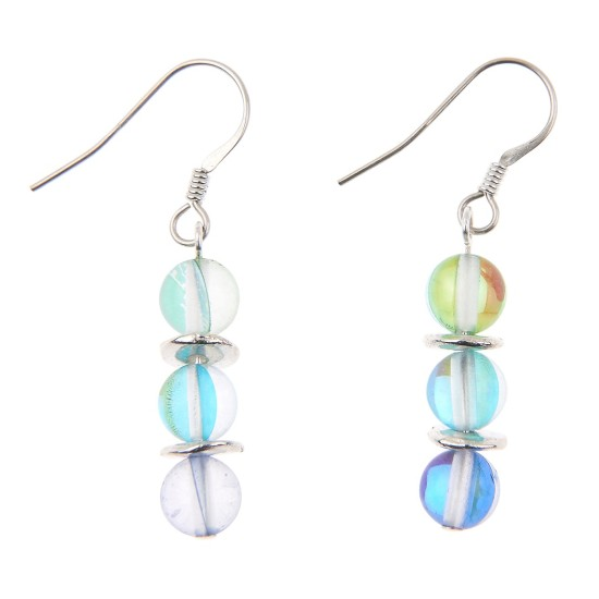 Carrie Elspeth Blue Halo Earrings - EH1420b