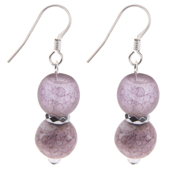 Carrie Elspeth Desire Earrings - Lilac - EH1407a