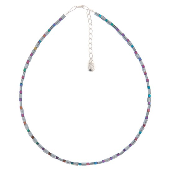 Carrie Elspeth Graphite Gleam Necklace - N1466