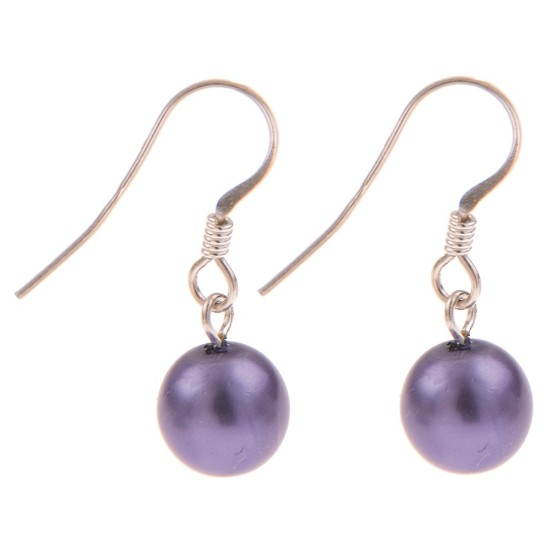Carrie Elspeth Harmony Earrings - Purple - EH1309c