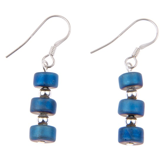Carrie Elspeth Infinity Earrings - Blue - EH1401