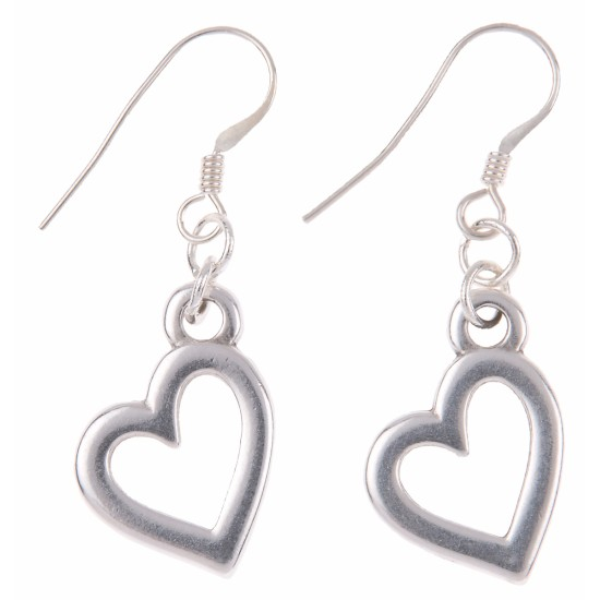 Carrie Elspeth Open Heart Keepsake Earrings - EH1276