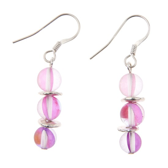 Carrie Elspeth Pink Halo Earrings - EH1420a