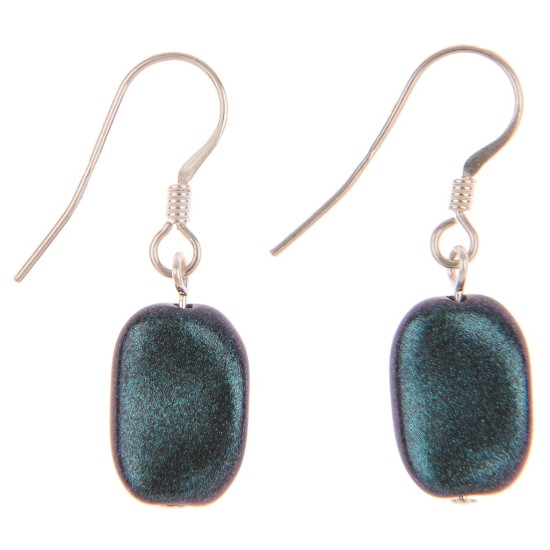 Carrie Elspeth Puddle Earrings - Azure - EH1317