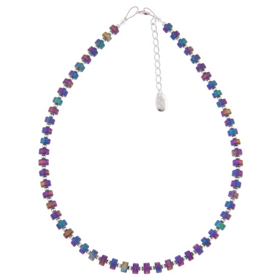 Carrie Elspeth Rainbow Infinity Full Necklace - N1399
