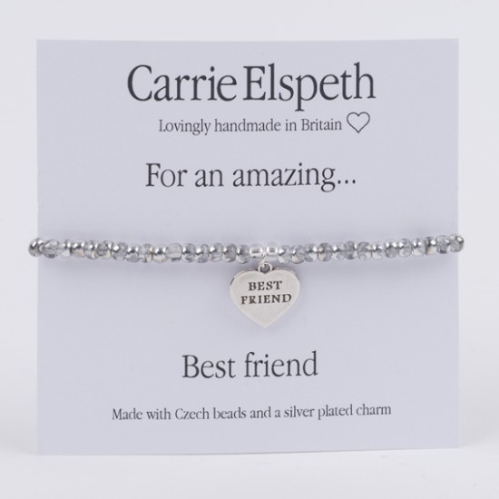 Carrie Elspeth Sentiment Bracelet - For an Amazing Best Friend - BB092