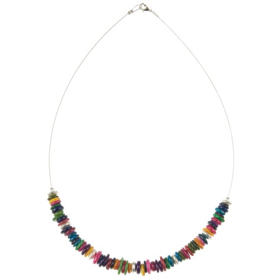 Carrie Elspeth Rainbow Shells Necklace - N938