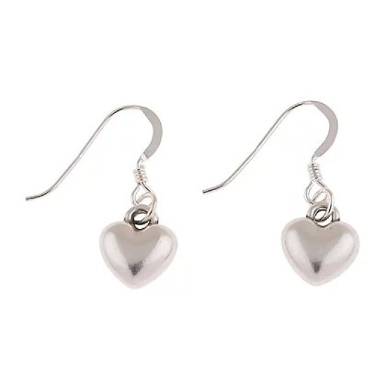 Carrie Elspeth Small Plump Heart Earrings - EE126