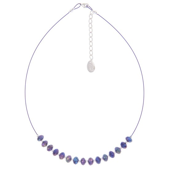 Carrie Elspeth Sparkle Necklace - Amethyst - N1394