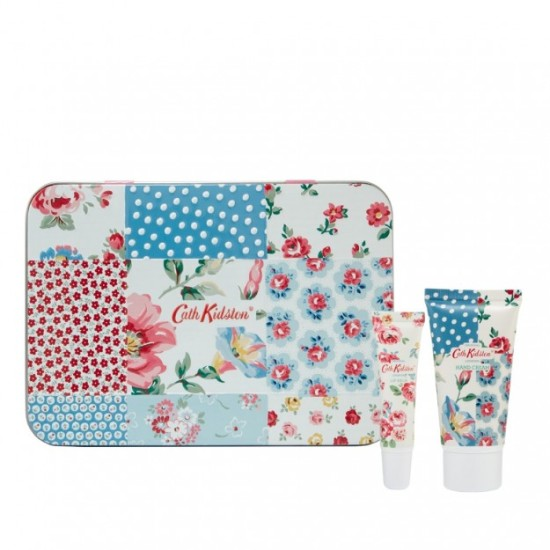 Cath Kidston Cottage Patchwork Hand and Lip Tin