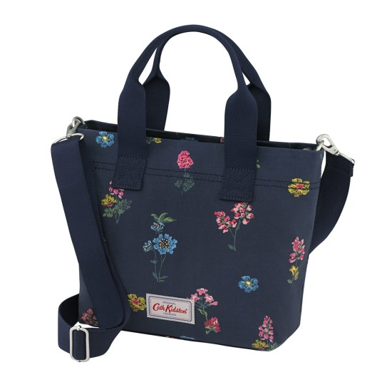 Cath Kidston Twilight Sprig Small Tote Bag - Navy