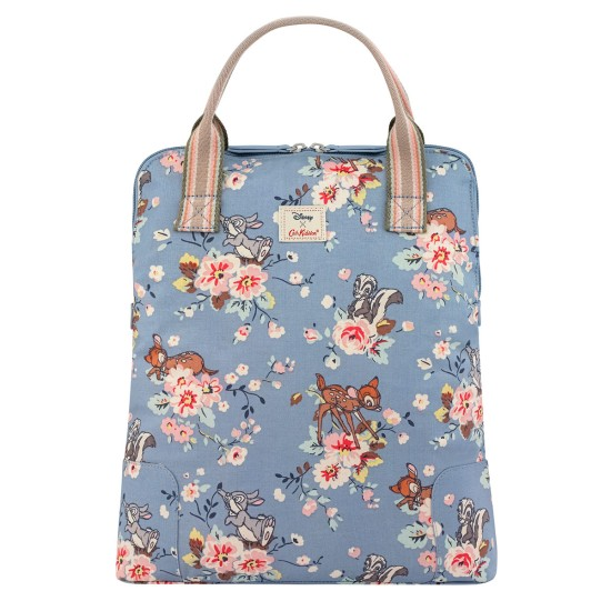 Cath Kidston x Disney Bambi Rose Lightweight Backpack - Ditsy Blue