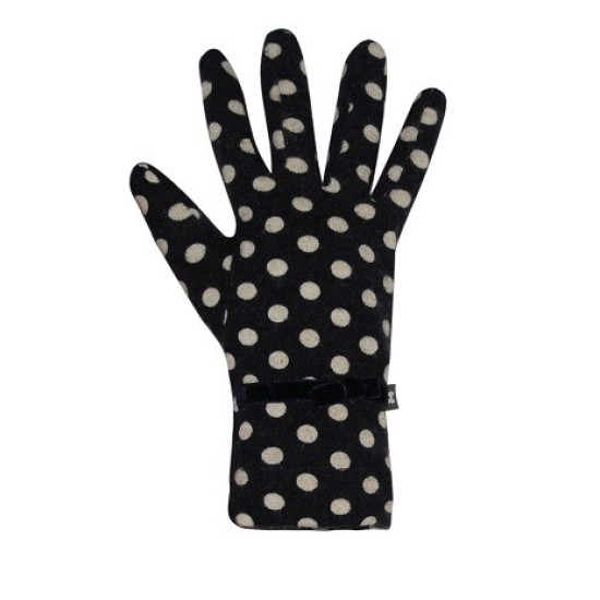 Earth Squared Jersey Spot Gloves - Navy