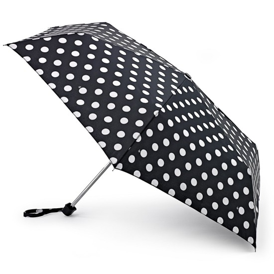 Fulton Miniflat-2 Umbrella - White Spot
