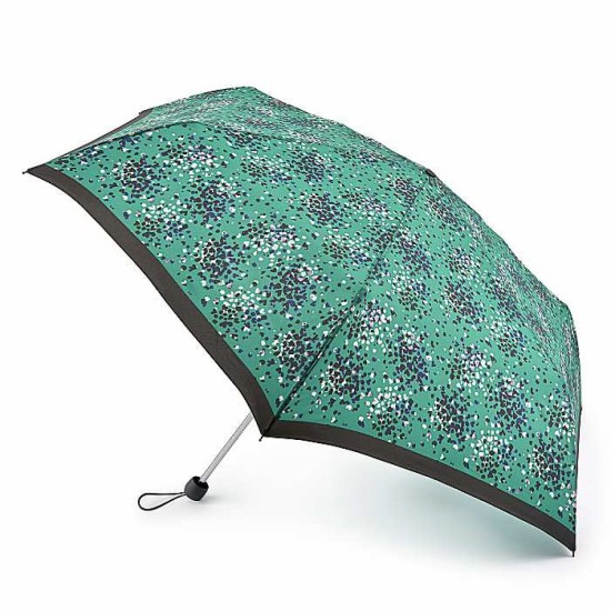 Fulton Superslim-2 Extra Umbrella - Emerald Hearts
