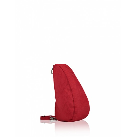 Healthy Back Bag Textured Nylon Large Baglett - Crimson