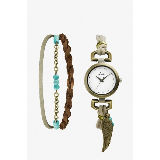 Hippie Chic Serene Watch & Bracelet Set