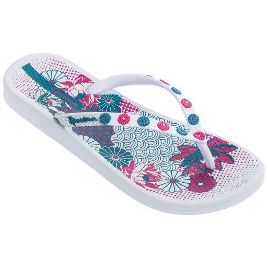 Ipanema Anatomica Lovely Flip Flops - White