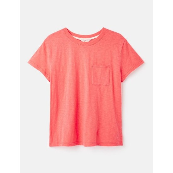 Joules Sofi Pocket T-Shirt - Light Pink