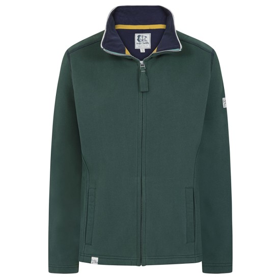 Lazy Jacks LJ33 Plain Full Zip Sweatshirt - Winter Green