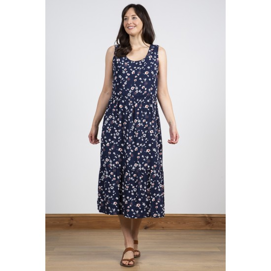 Lily & Me Summer Dress - Animal Ditsy Navy