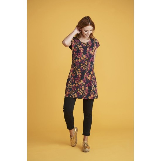 Mistral 50s Stem Print Tunic - Eclipse Multi