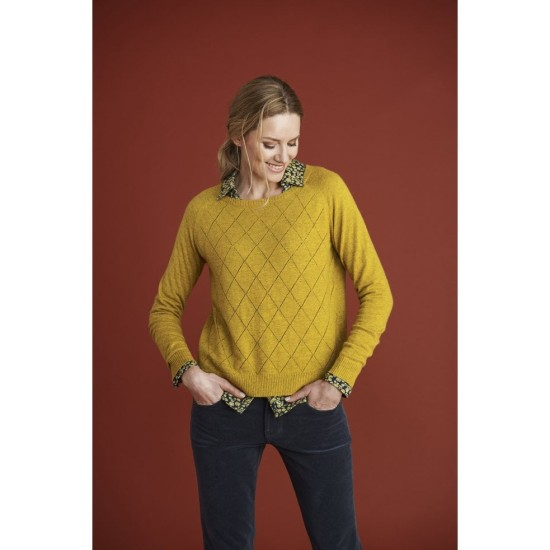 Mistral Mable Diamond Jumper - Gold