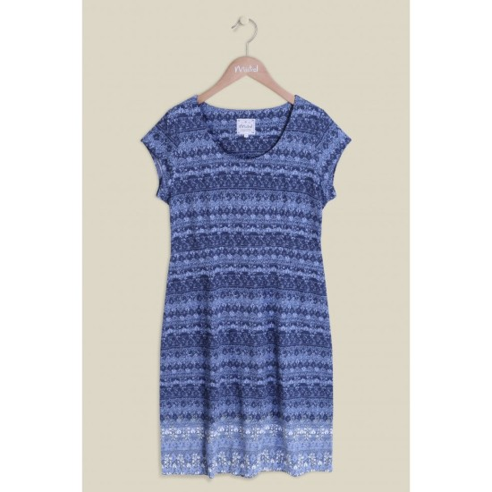Mistral Nelly Indian Border Dress - Eclipse Multi