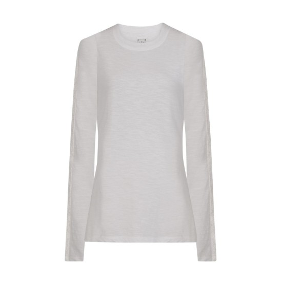 Mistral Salcombe Lace Top - White