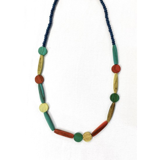 Mistral Summer Multi Disc Necklace