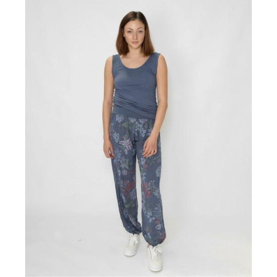 N and Willow Lilly Slouchies - Denim Blue