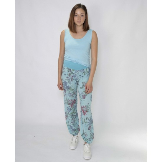 N and Willow Lilly Slouchies - Turquoise Blue