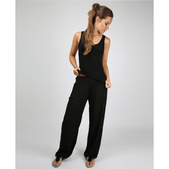 N and Willow Plain Slouchies - Black